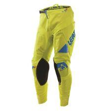 LEATT GPX 4.5 Motocross MX Enduro Off Road Pants / Trousers - Lime/Blue - NEW UK