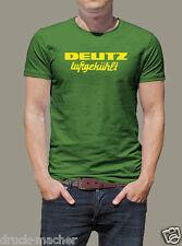 T-Shirt DEUTZ luftgekühlt Traktor - Gr. S - XXXL - waschecht Siebdruck ! Kult