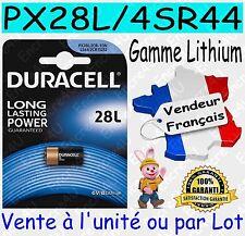 Piles DURACELL TYPE 4SR44 PX28L - Dispo aussi CR2016 CR2025 CR2032 CR2430 CR2450