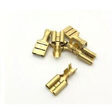 9.5mm Brass Female Spade Connector Terminal - Durite 0-005-22