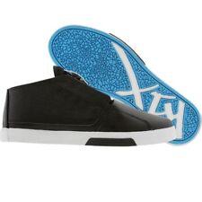 $100 K1X KIX Shoes Y2G LE black white cyan Premium Skate Fashion Sneakers