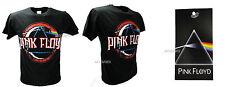 Camiseta Original Pink Floyd Negra Dark Side of the Luna Roca camiseta