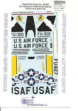 Superscale Decal 48-885 N.A. F-86D-50-NA Sabre