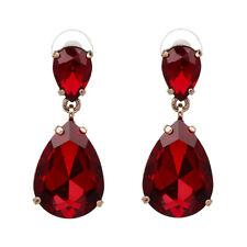 E12 Antoinette Crystal Dangle Vintage Style Statement Glamour Earrings