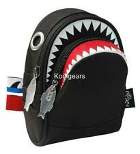 SHARK waist pack XS MORN CREATIONS pouch backpack BLACK