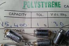 LCR FSC/P 15.400pF 1% 30V Polystyrene Capacitors