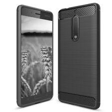 für Nokia 5 - Schutz Handy Hülle TPU Case Silikon Dünn Weich Outdoor Armor Cover