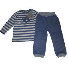 KANZ Baby Schlafanzug 2tlg Hose + Shirt Unisex blau