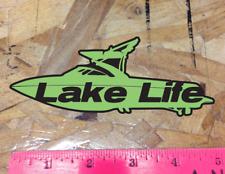 Lake Life Truck Car Window Inboard Sticker Ski Boat Wake Malibu Colors