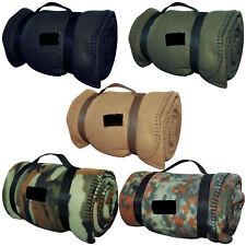 BW Army FLEECEDECKE tarn, Outdoor Armee Bundeswehr Fleece Decke Picknickdecke