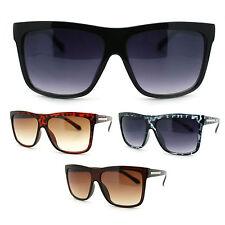 Womens Diva Arrow Emblem Trendy Designer Fashion Oversized Horn Rim Sunglasses