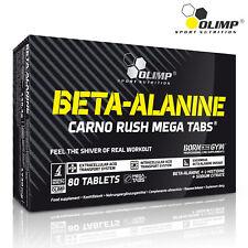 BETA ALANINE 80 TABLETS Pre Workout Food Supplement Energy & Endurance Booster