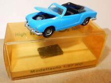 MICRO IMU HO 1/87 VW VOLKSWAGEN KARMANN GHIA cabriolet colores a elegir