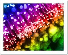 Colorful Lights Art Print Home Decor Wall Art - 6