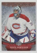 2006-07 Upper Deck Ovation #175 David Aebischer Montreal Canadiens Hockey Card