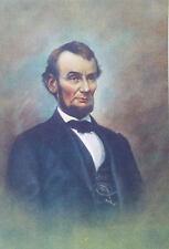 President Abraham Lincoln print vintage look