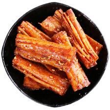 Chinese Specialty Snack Food Latiao Spicy Gluten 重庆麻辣手工儿时怀旧零食小吃辣条 湖南特产薄豆皮辣片500g