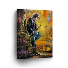 Modern Oil Painting on Canvas Print Wall Decor Art Framed %100 Handmade OPV5