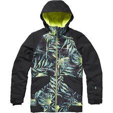 O'neill Ski Jacket Snowboard Jacket Pg Gloss Jacket Black Waterproof