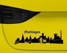 Stadt Hattingen Aufklebercollage  11 Farben 2 Größen
