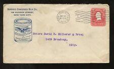 STATIONERY ADVERTISING ILLUST.1906 BORDENS CONDENSED MILK NEW YORK USA