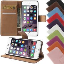 Apple iPhone 6 6s Book Style Handytasche Handy Hülle Etui Case Flip Cover NEU