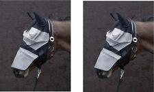Pferde Gesichtsmaske Fliegenmaske + Ohren Insekten Schutzmaske PFIFF ALLE GRÖßEN