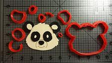 Panda Face Cookie Cutter Set