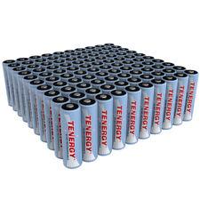 Tenergy Bulk AA,AAA 2500mAh,1000mAh NiMH Rechargeable Batteries Cells 1.2V Lot