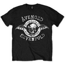 AVENGED SEVENFOLD Black Mens T-Shirt Origins