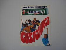 advertising Pubblicità 1981 BROOKLYN CHEWING GUM