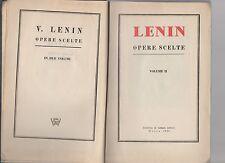 Lenin - opere scelte - volume II°