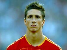 Fernando Torres Spain Portrait Football Soccer Giant Wall Print POSTER