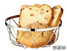 pain CORBEILLE de fruits,en chromé acier,2 tailles éligible,empilable,18 & 23