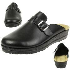 Rohde Neustadt d Clogs Damen Hausschuhe Schuhe 1447 schwarz