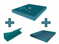 Wasserbett Matratze DUAL Set 2 Stk inkl. Trennwand+Outliner Wasserkern Softside