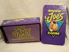 JOE CAMEL CIGARETTES RACING TIN & BOX OF MATCHES