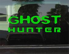 GHOST HUNTER  8 INCH DIE CUT VINYL DECAL/STICKER