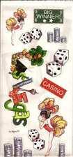 LAS VEGAS Scrapbook Stickers and Phrases