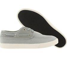 Generic Surplus Boat Shoe Perf Leather grey Premium Fashion Sneakers
