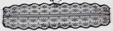 Gargantilla de encaje Vintage 4 cm ancho delicado encaje de ganchillo Retro Estilo Gótico Collar Collar
