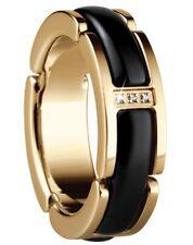 Bering Time Jewelry Stainless Steel Ceramic Finger Ring 502-26- gr.49-60 Black