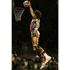 82834 Julius Erving Dr J Dunks Basketball Decor WALL PRINT POSTER CA
