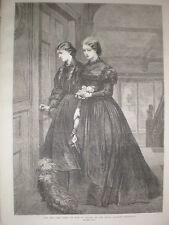 Per l'ultima volta da Miss e OSBORN 1864 Old print