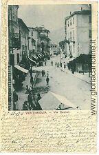 CARTOLINA d'Epoca - IMPERIA: VENTIMIGLIA 1901