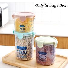 New listing Bottle Jar Container Preservation Storage Box Sealing Pot Plastic Food Fresh
