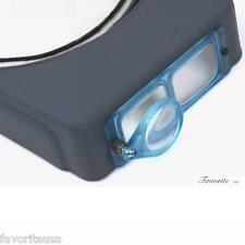 Donegan OptiVISOR® Binocular Magnifier With OptiLoupe Attachment