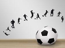 11x calciatore-sport ragazzo ADESIVI Decorazione Muro Stanza Dei Bambini Adesivi Tatuaggio Parete