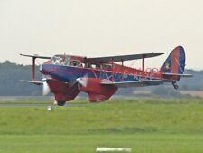 1 X DE HAVILLAND DH-89 DRAGON RAPIDE PHOTOGRAPH