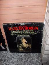 Gaëtano Donizetti: Lucrezia Borgia, 3 Schallplatten
